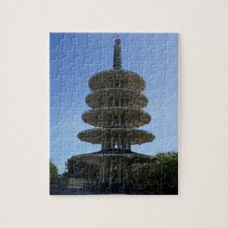 SF Japantown Peace Pagoda #3 Jigsaw Puzzle