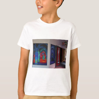 SF Magowan's Infinite Mirror Maze Kids T-shirt