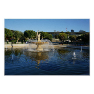 SF Rideout Memorial Fountain Poster