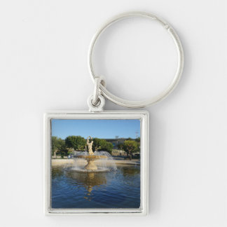 SF Rideout Memorial Fountain Premium Keychain