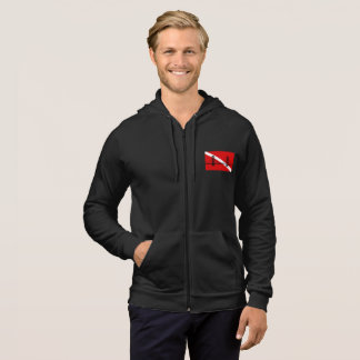SF Scuba Diving Group men's zippered hoodie