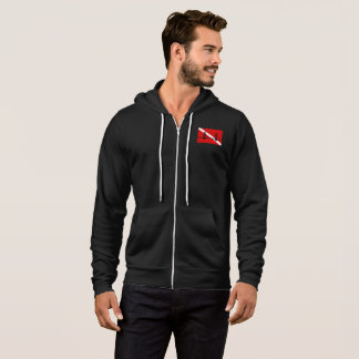 SF Scuba Men's Zippered Hoodie