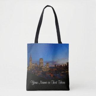 SF Skyline #4 All Over Print Tote Bag