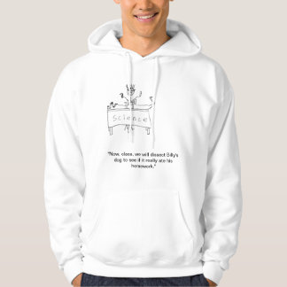 SFC: Dissect Dog For Homework Hoodie