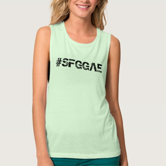 SFGGAE Women's Bella+Canvas Flowy Muscle Tank Top