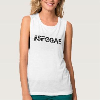SFGGAE Women's Bella+Canvas Flowy Muscle Tank Top
