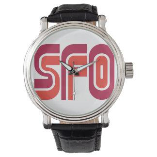 SFO - San Francisco Muni watch