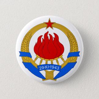 SFR Yugoslavia 2 Inch Round Button