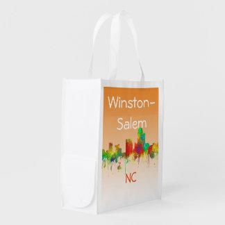 SG d'HORIZON de WINSTON-SALEM - sacs de Reuseable Sac D'épicerie