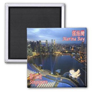SG - Singapore - Singapore Skyline Magnet