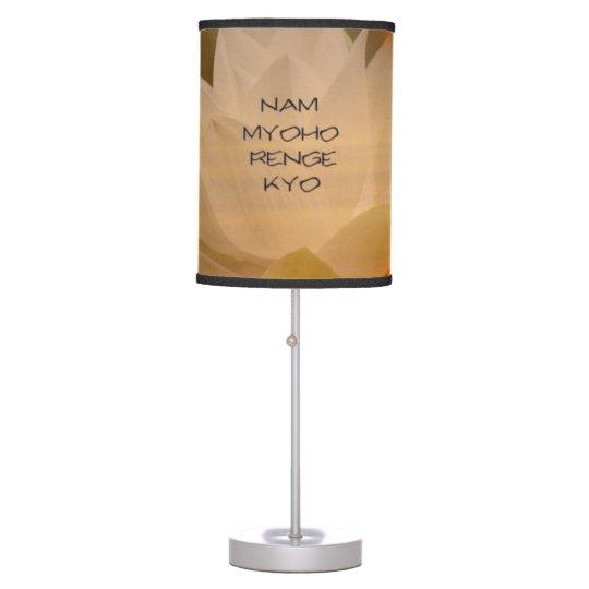 SGI Buddhist Lamp with NMRK - Customizable