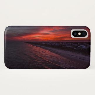 SGI Sunset Aerial iPhone X Case