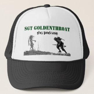 Sgt Goldenthroat trucker hat
