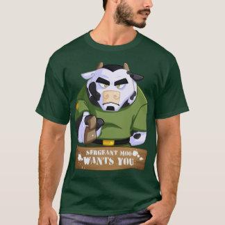 Sgt Moo Wants You T-Shirt