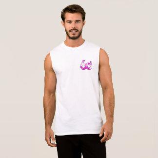 Sh4dow60s Cancer Awareness logo With Name Sleeveless Shirt
