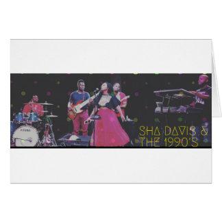 Sha Davis & The 1990's Card