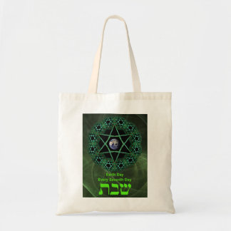 Shabbat - Earth Day Budget Tote Bag