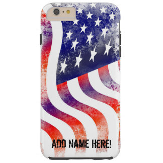 Shabby Chic American Flag Phone Case