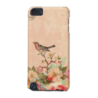 Shabby chic, bird,butterfly,lace,floral,country ch iPod touch 5G covers