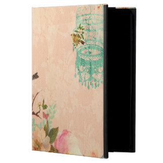 Shabby chic, bird,butterfly,lace,floral,country ch powis iPad air 2 case