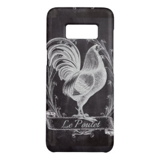 shabby chic blackboard french country rooster Case-Mate samsung galaxy s8 case