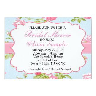 Shabby Chic Bridal Shower Card