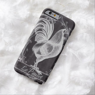 shabby chic chalkboard  vintage french rooster barely there iPhone 6 case