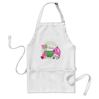 Shabby Chic Cupcake Baking Aprons