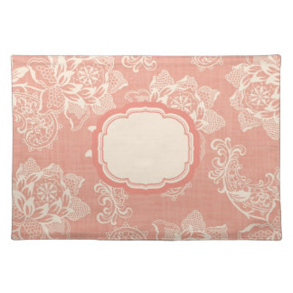 Shabby Chic English Garden Floral Placemats