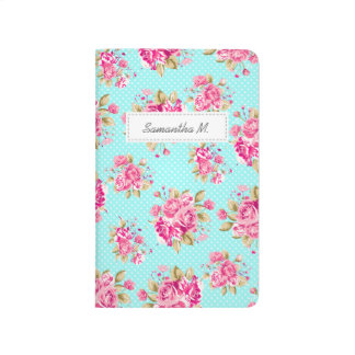 Shabby Chic Floral Roses Journal