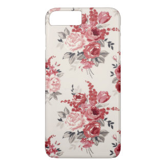 Shabby Chic Flower Vintage Rose Iphone Samsung iPhone 8 Plus/7 Plus Case