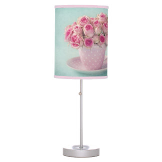 Shabby chic, french chic, vintage,floral,rustic,bi table lamp