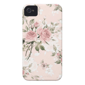 Shabby chic, french chic, vintage,floral,rustic, iPhone 4 Case-Mate case