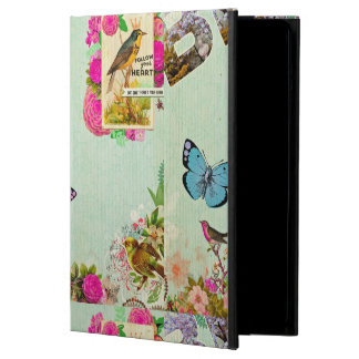 Shabby chic, french chic, vintage,floral,rustic,mi iPad air case