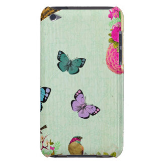 Shabby chic, french chic, vintage,floral,rustic,mi iPod Case-Mate cases