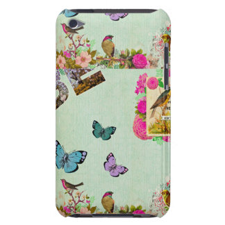 Shabby chic, french chic, vintage,floral,rustic,mi iPod touch cover