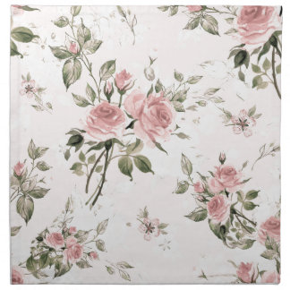 Shabby chic, french chic, vintage,floral,rustic, napkin