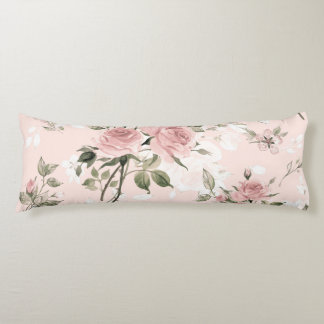 Shabby chic, french chic, vintage,floral,rustic,pi body pillow