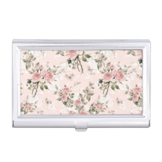 Shabby chic, french chic, vintage,floral,rustic,pi business card holder