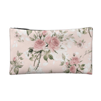 Shabby chic, french chic, vintage,floral,rustic,pi cosmetic bag