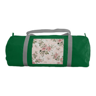 Shabby chic, french chic, vintage,floral,rustic,pi gym bag