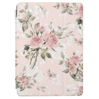 Shabby chic, french chic, vintage,floral,rustic,pi iPad air cover