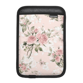 Shabby chic, french chic, vintage,floral,rustic,pi iPad mini sleeve