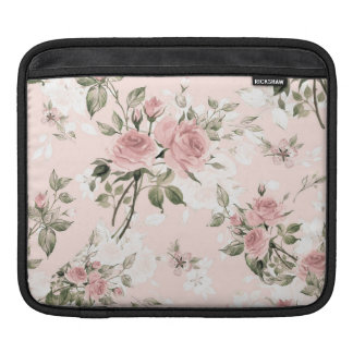 Shabby chic, french chic, vintage,floral,rustic,pi iPad sleeve