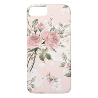 Shabby chic, french chic, vintage,floral,rustic,pi iPhone 8/7 case