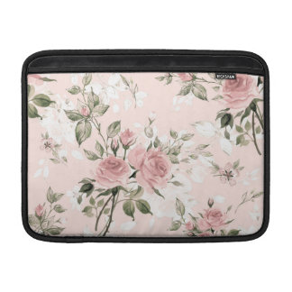 Shabby chic, french chic, vintage,floral,rustic,pi MacBook sleeve