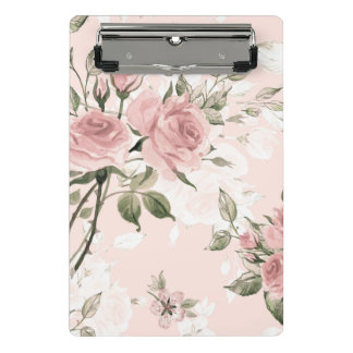 Shabby chic, french chic, vintage,floral,rustic,pi mini clipboard