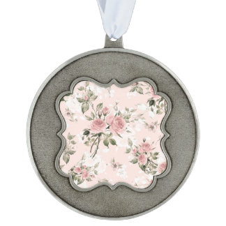 Shabby chic, french chic, vintage,floral,rustic,pi ornament