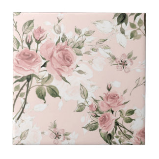 Shabby chic, french chic, vintage,floral,rustic,pi tile