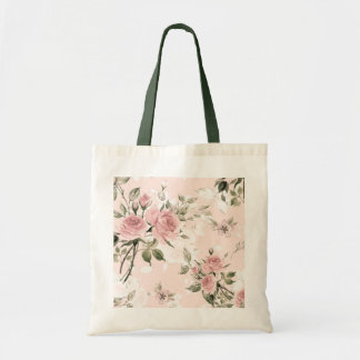 Shabby chic, french chic, vintage,floral,rustic,pi tote bag